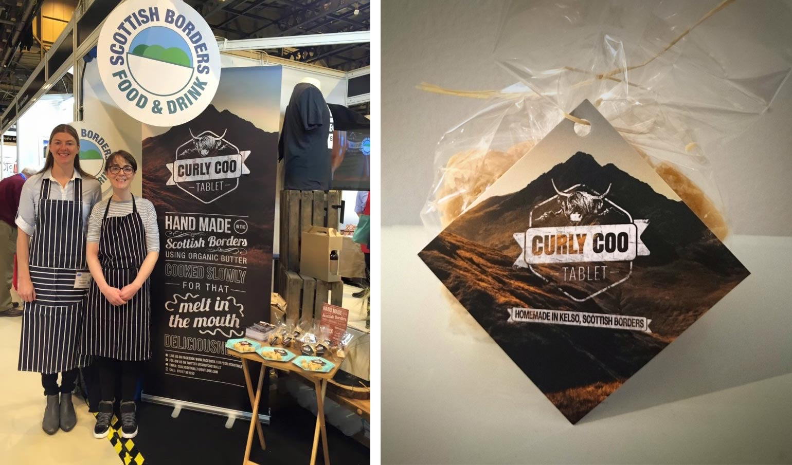 Curly Coo Logo & Packaging