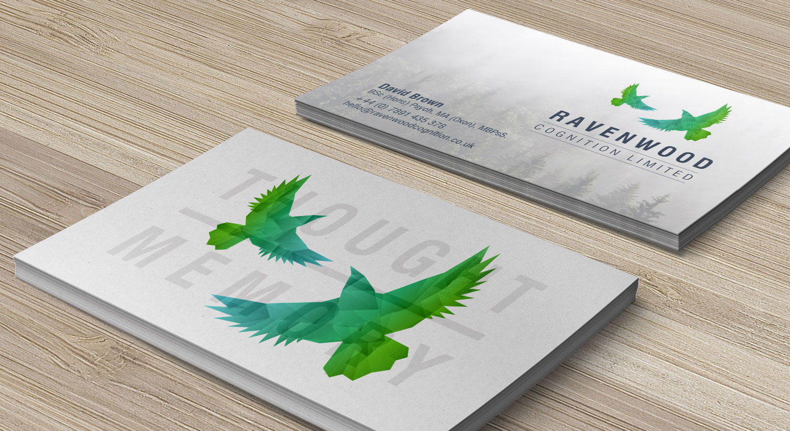 Ravenwood Business Cards